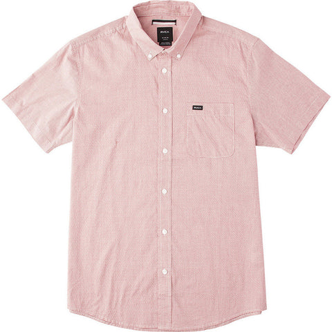 RVCA - That'll Do Micro SS Shirt (Pompei Red)