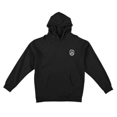 Spitfire - x Quartersnacks Snackman Hood (Black/White)