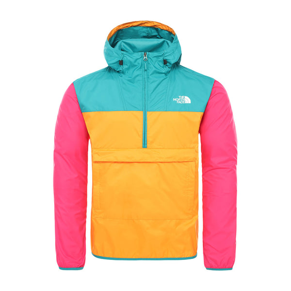 The North Face - Fanorak (Flame Orange/Fanfare Green/Mr Pink)