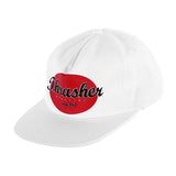 Thrasher - Oval Snapback (White)