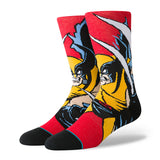 Stance - x Marvel Wolverine Crew Sock  (Red)