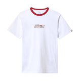 Vans - x Baker Speed Check Tee (White/Cardinal)