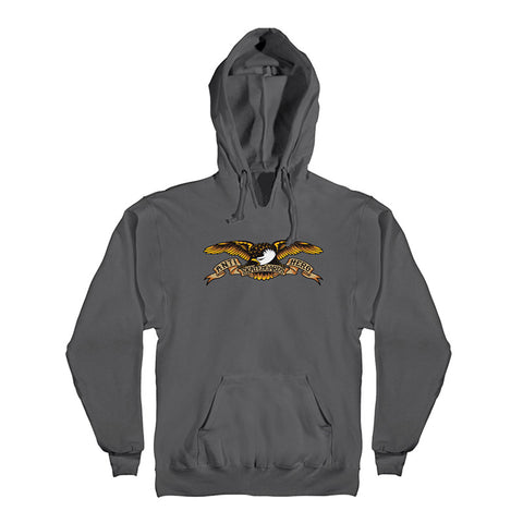 Anti Hero - Classic Eagle Hood (Charcoal)