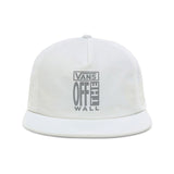 Vans - AVE Lockup Shallow Unstructured Snapback (White)