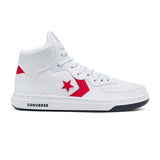 Converse - Rival Leather Twisted Varsity Mid (White/University Red/Black)