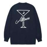 Alltimers - Late LS Tee (Navy)