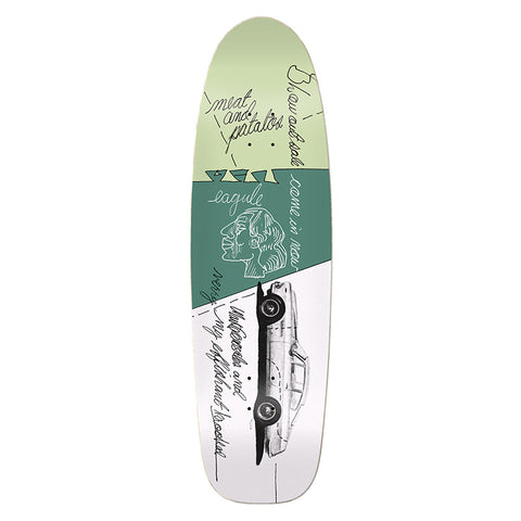 Krooked - Gonz Effishant Shaped Deck