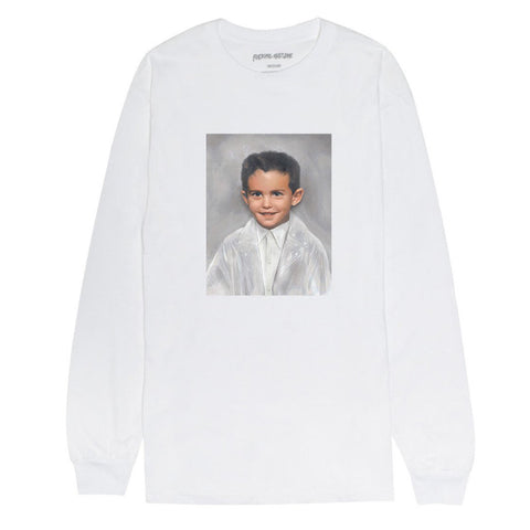 Fucking Awesome - Dylan LS Tee (White)