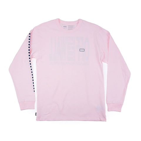 Vans - Off The Wall Classic Graphic LS Tee (Cool Pink)