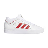 adidas - Tyshawn (Cloud White/Scarlet/Cloud White)