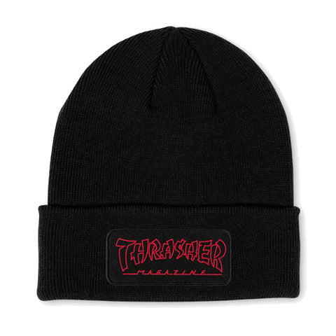Thrasher - China Banks Patch Beanie (Black)