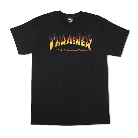 Thrasher - BBQ Tee (Black)
