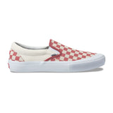 Vans - Slip On Pro Checkerboard (Mineral Red)