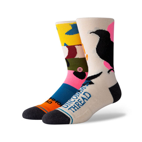 Stance - Rebirth Crew Sock (Tan)