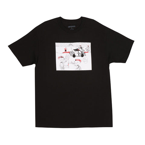 GX1000 - Pizza Tee (Black)