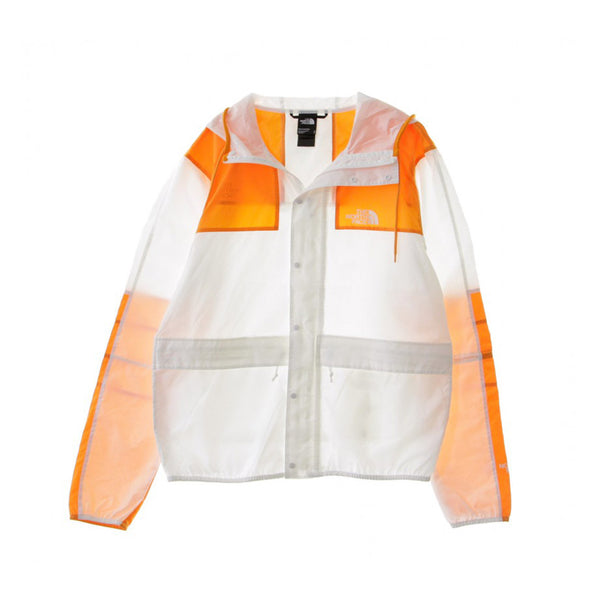 The North Face - Soft Shell Jacket (White/Flame Orange)