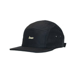 Linear - Mini Velo 5 Panel Hat (Black)
