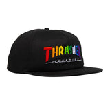 Thrasher - Rainbow Mag Snapback (Black)