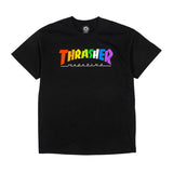 Thrasher - Rainbow Mag Tee (Black)
