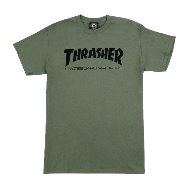 Thrasher - Skate Mag Tee (Army Green)
