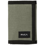 RVCA - Trifold Wallet (Olive)