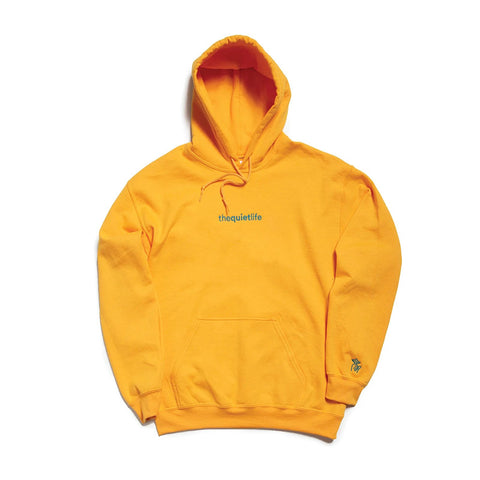 The Quiet Life - Origin Embroidered Hood (Gold)