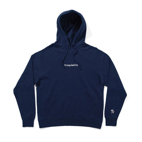 The Quiet Life - Origin Embroidered Hood (Navy)