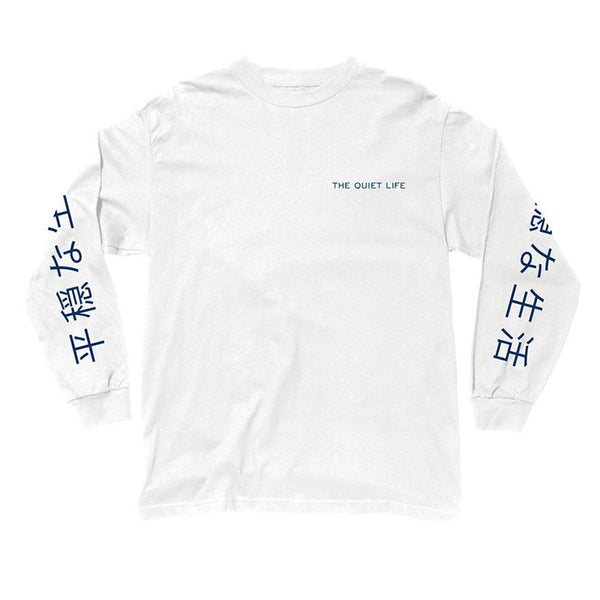 The Quiet Life - Japan LS Tee (White)