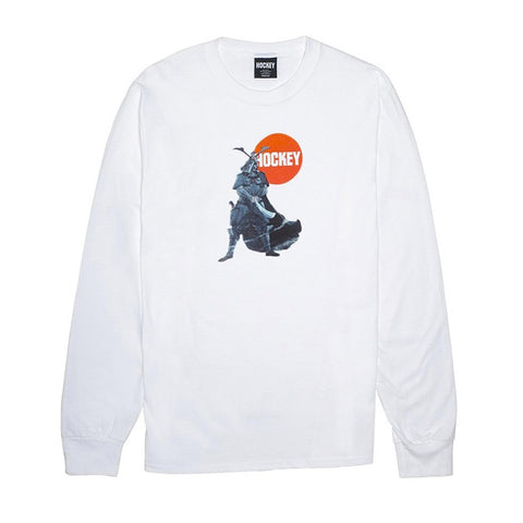 Hockey - Samurai LS Tee (White)