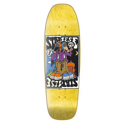 New Deal - Siamese Double Kick Shaped Deck
