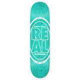 Real - Stacked Oval Floral Deck
