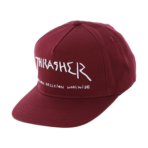 Thrasher - New Religion Snapback (Maroon)