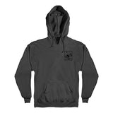 Anti Hero - Skull Mountain Hoodie (Charcoal/Black)