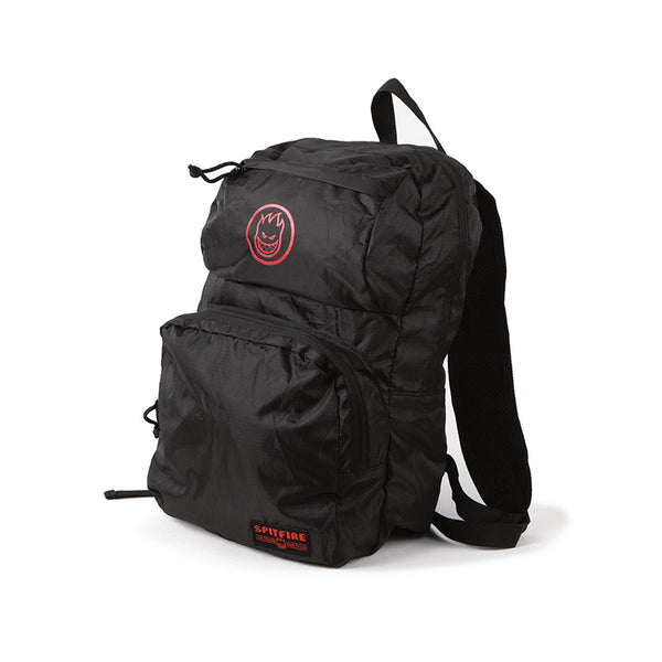 Spitfire - Bighead Circle Packable Bag (Black/Red)