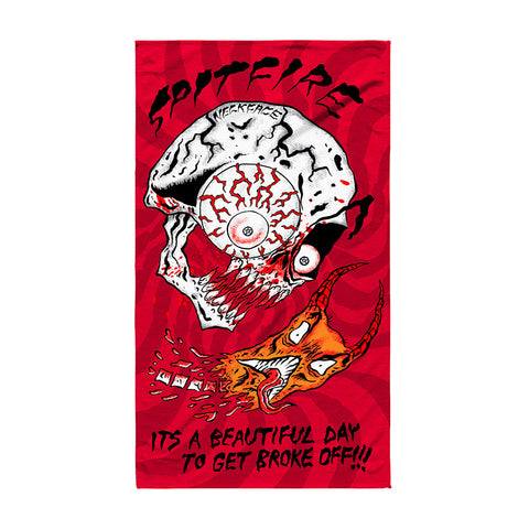 Spitfire - x Neckface Broke Off Towel (Red)