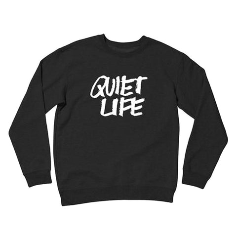 The Quiet Life - Jarvis Crewneck (Black)