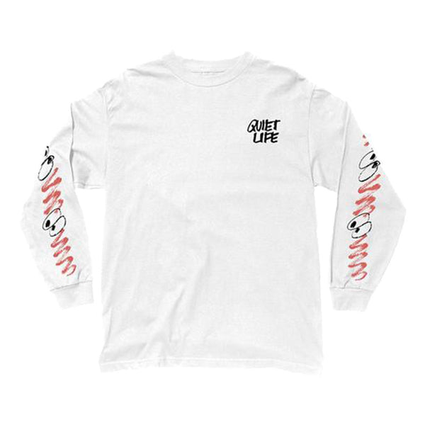 The Quiet Life - Jarvis LS Tee (White)