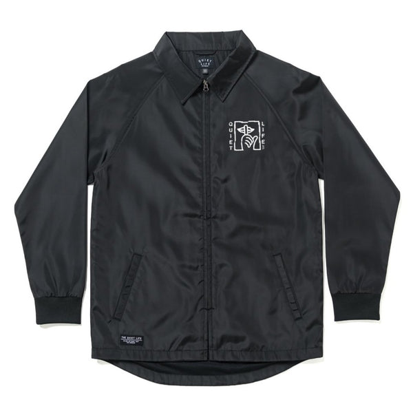 The Quiet Life - Shatter Monsoon Jacket (Black)