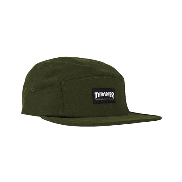 Thrasher - 5 Panel (Army Green)