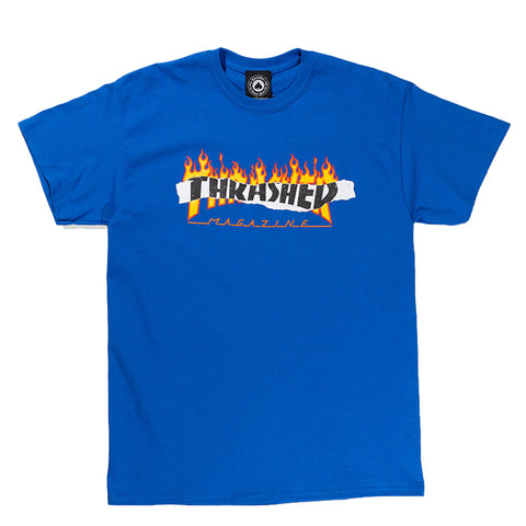 Thrasher - Ripped Tee (Royal Blue)