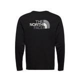 The North Face - Easy LS Tee (Black/Zinc Grey)