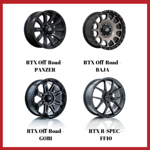 4 New RTX Wheel Designs!