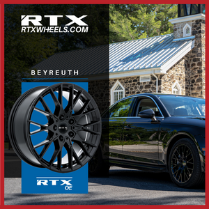 RTX WHEELS - AUDI A4 with Beyreuth Wheels