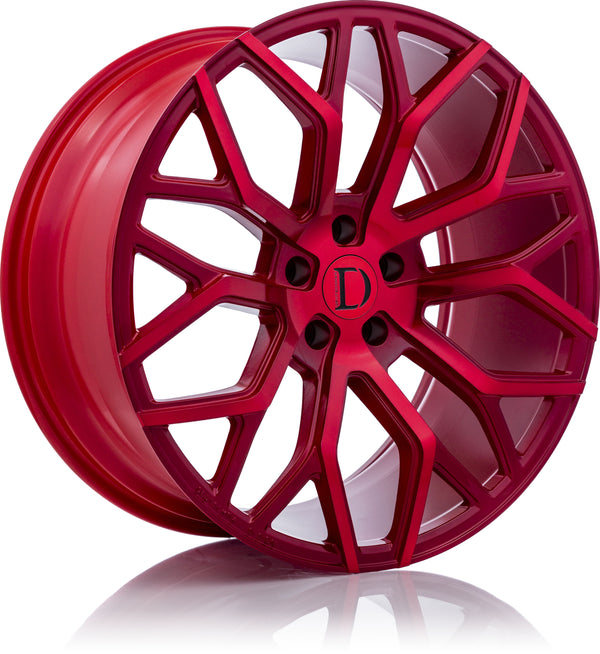 D01 - Red Machined Red