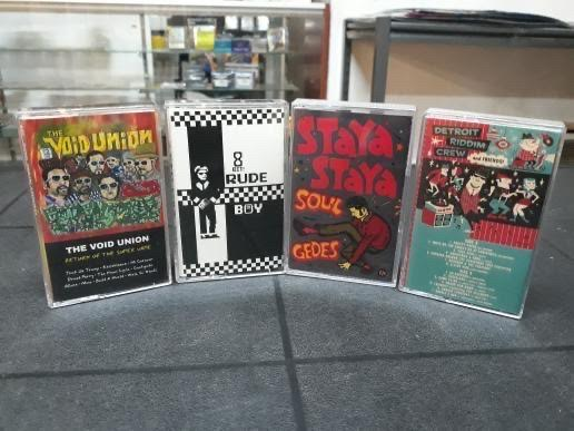 JUMP UP RECORDS 4PK - [4 CASSETTE TAPES]