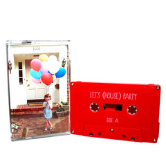 LET'S HOUSE PARTY - compilation - BRAND NEW CASSETTE TAPE punk ska electronic