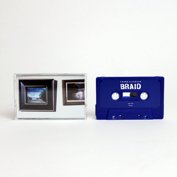 BRAID - frame and canvas - BRAND NEW CASSETTE TAPE