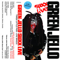 GREEN JELLO - three live pigs [live single] - BRAND NEW CASSETTE TAPE