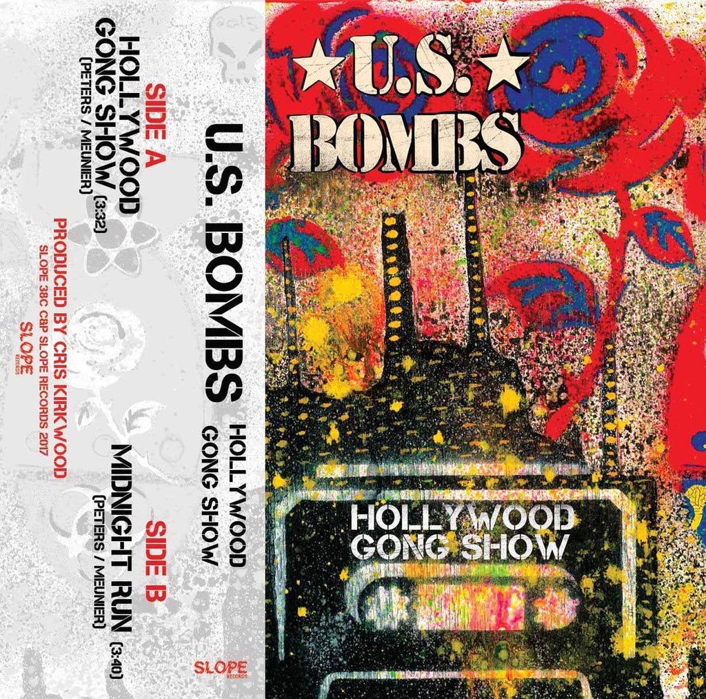 U.S. BOMBS - hollywood going show - BRAND NEW CASSETTE TAPE