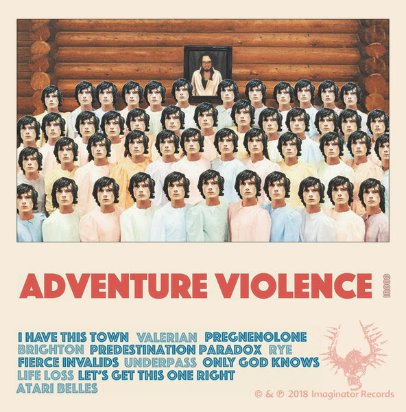 ADVENTURE VIOLENCE - s/t - CSD2018 (not yet available)